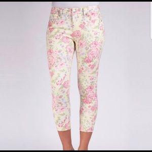 Liverpool Jeans Company Floral Capris